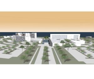 City Hotel Muscat Concept Masterplan