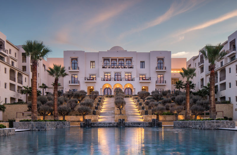 THE FOUR SEASONS RESORT IN TUNISIA:  BEST NEW HOTEL IN AFRICA 2018 – WORLD TRAVEL AWARDS
