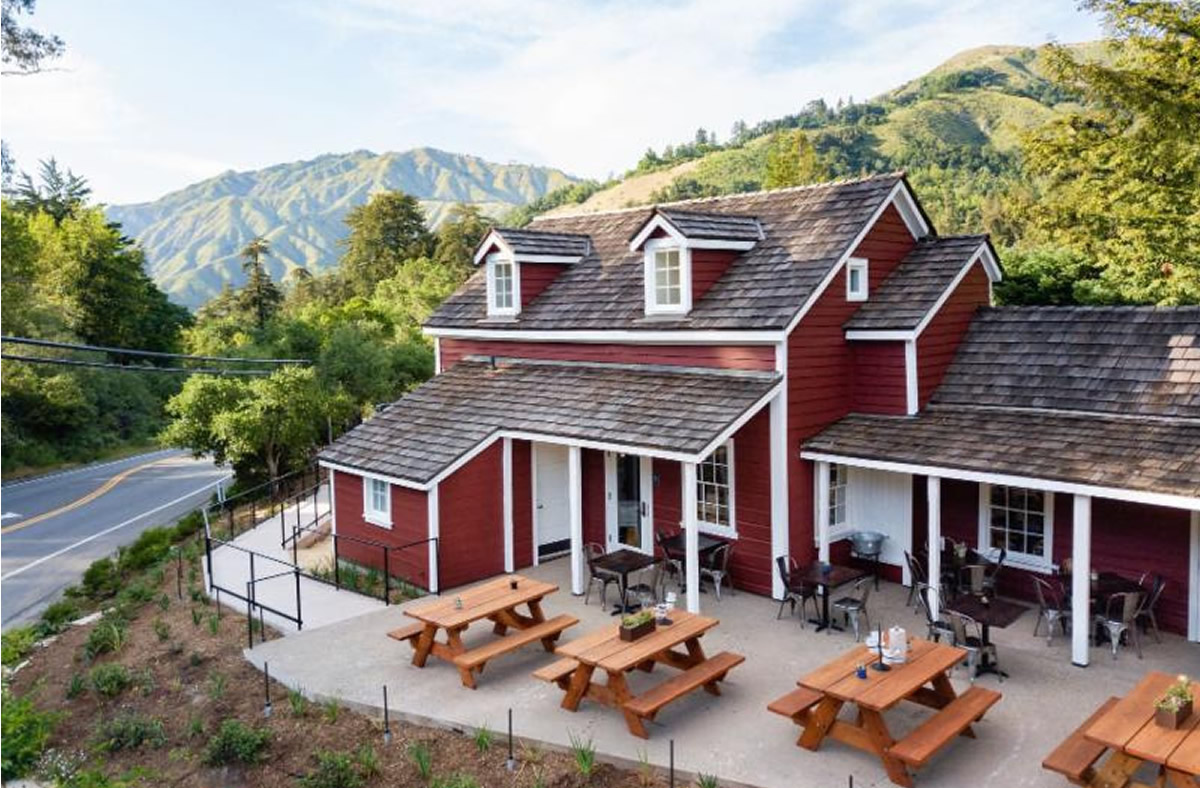 WE ARE PLEASED TO ANNOUNCE THE OPENING OF OUR PROJECT – THE BIG SUR SMOKEHOUSE ON HWY 1 IN BIG SUR, CALIFORNIA